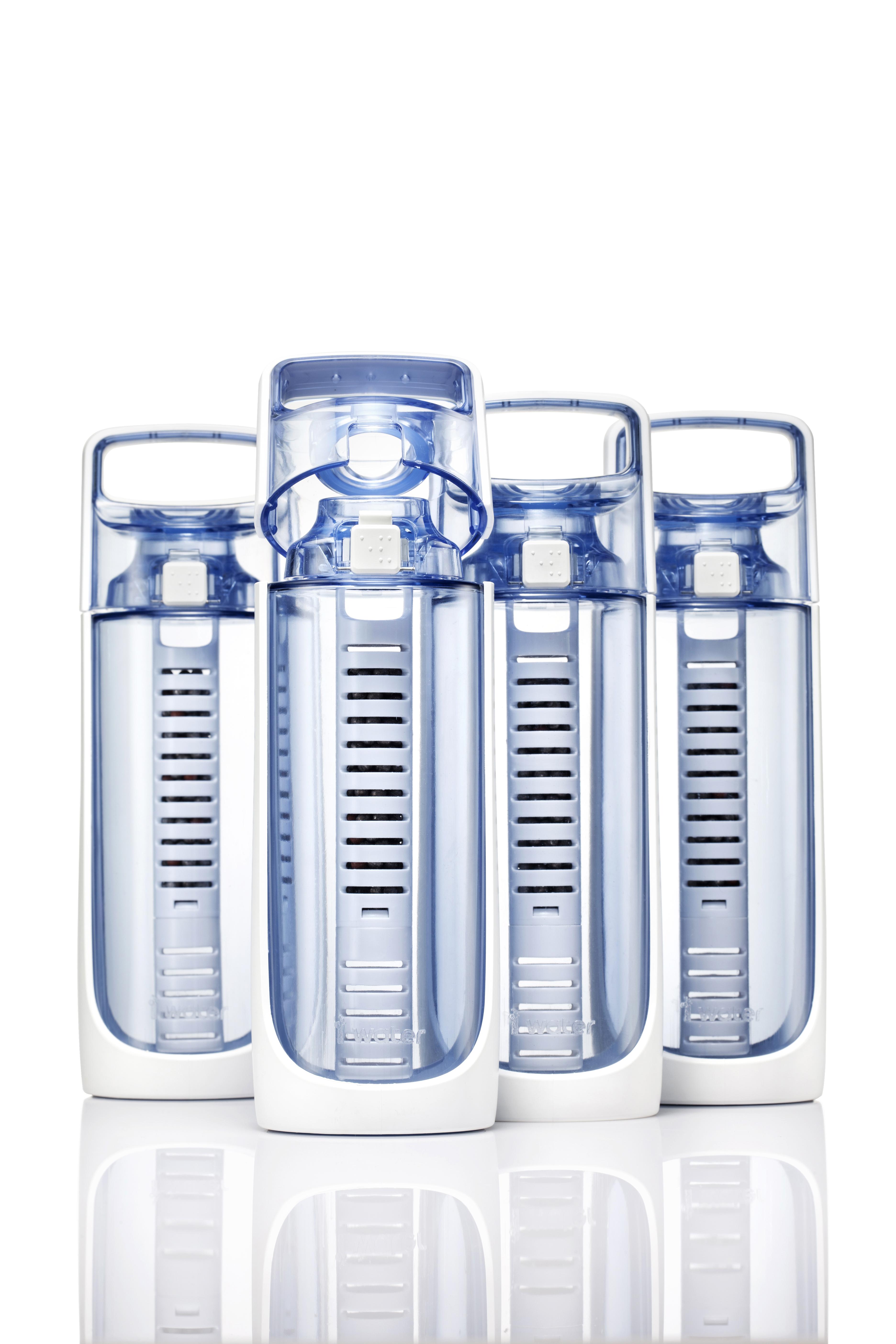 butelka filtrująca I-WATER jonizator wody generator wodoru 600 ml